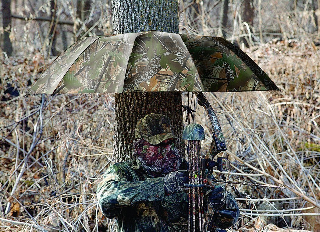 Instant Roof Tree Stand Umbrella (Oakbrush, 57-inch), New