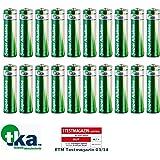 tka Köbele Akkutechnik AA Marken Batterien: Super-Alkaline-Batterien Mignon 1,5V Typ AA, 20 Stück (Batterie-Sets)
