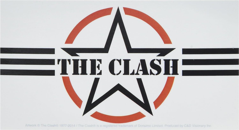 Amazon Com C D Visionary The Clash Af Logo Sticker Toys Games