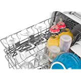 """Frigidaire FFID2423RS 24"""" Energy Star Rated Built-In Dishwasher with Stainless Steel Spray Arm Dual Filtration and SaharaDry Systems Multiple-Cycle Option and DishSense Technology in Stainless"""