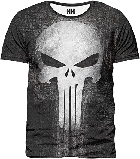 TALLA XS. Noorhero - Camiseta de Hombre - The Punisher
