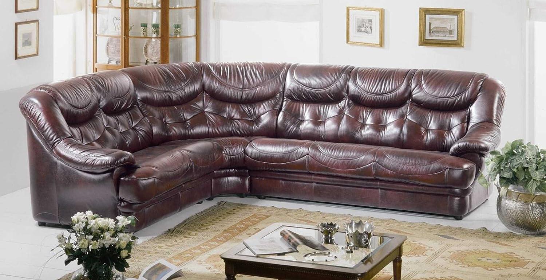 Amazon.com: Dima Malaga White Sectional Sofa - Made In Italy ...