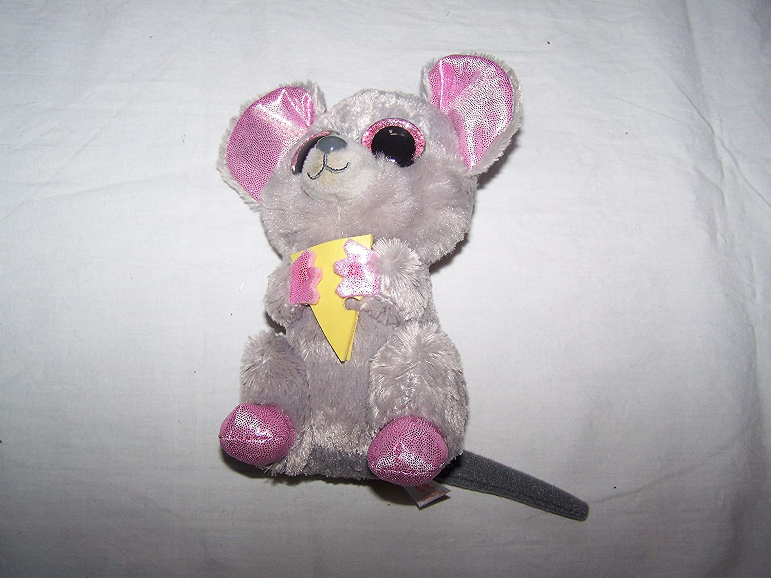 TY Beanie Boo Plush - Squeaker the Mouse 15cm by Ty  Amazon.co.uk  Toys    Games c0a1112775ef