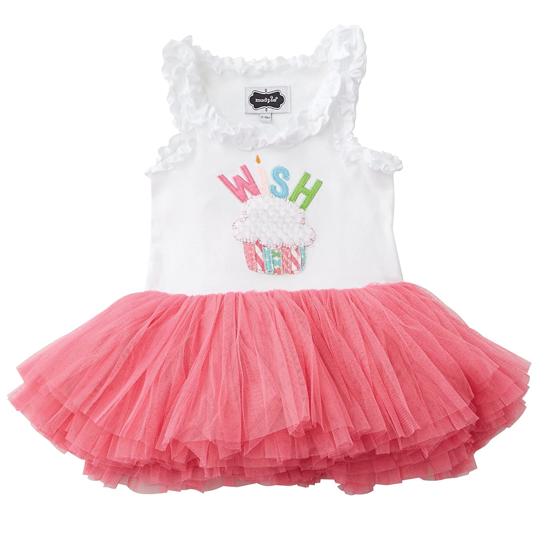 Amazon mud pie baby toddler girls birthday tutu dress clothing geenschuldenfo Choice Image