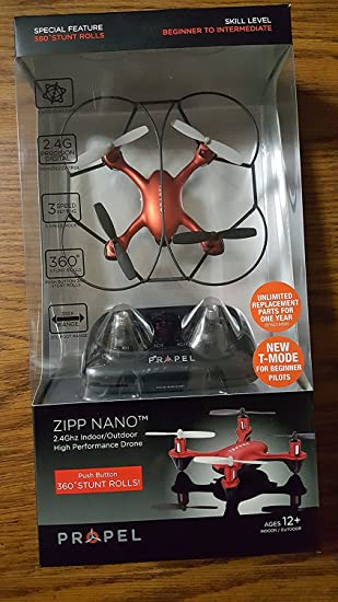 Propel Zipp Nano 2.4 GHZ Mini Drone by Propel: Amazon.es: Juguetes ...