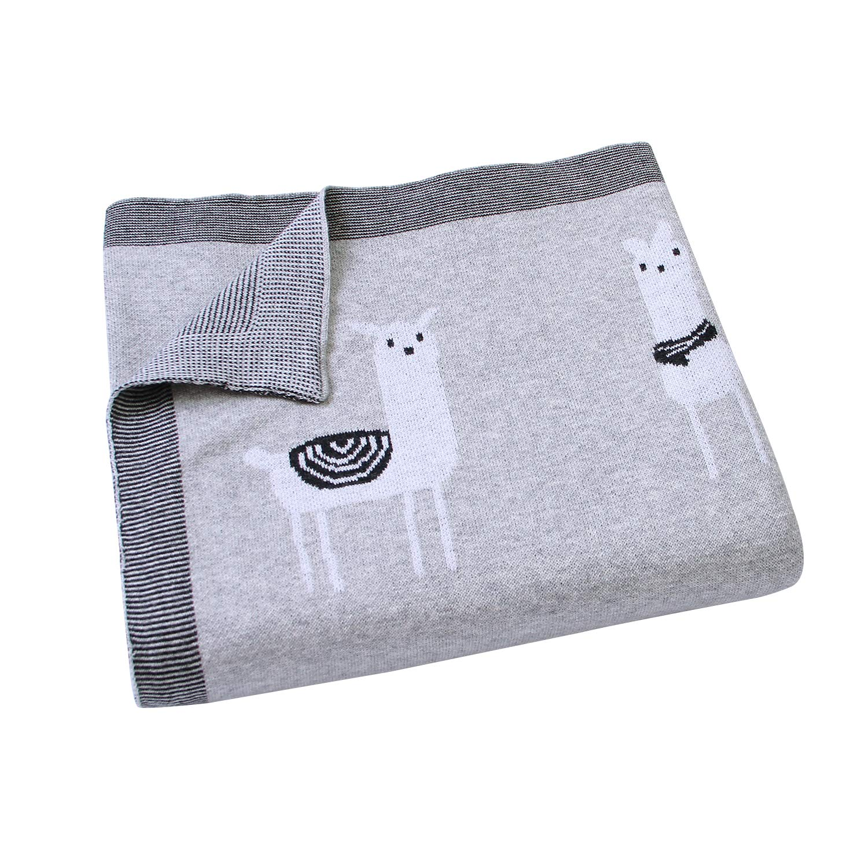 mimixiong Babydecke 100 /% Baumwolle