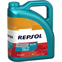 Repsol RP135X55 Elite 50501 Tdi 5W40, Transparente/Dorado, Talla
