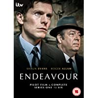 Endeavour Series 1 to 6 [2019]