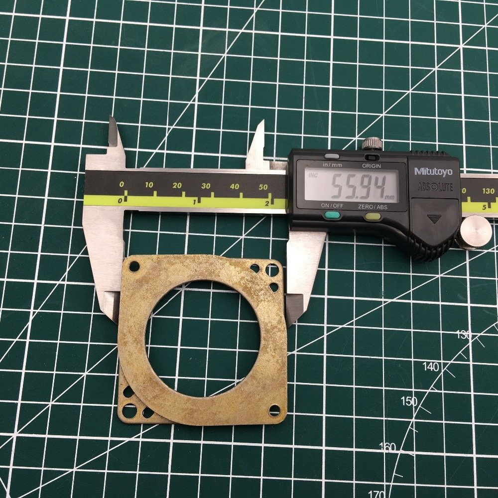 WillBest 1pcs Nema 23 Stepper Motor Damper Pad Anti Vibration Damper Nema 23 Steel /& Rubber Damper CNC 3D Printer Mill