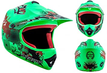 "Armor · AKC-49 ""Limited Green"" (green) · Casco Moto-"