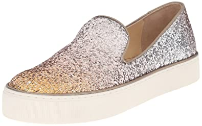 Stuart Weitzman Glitter Slip-On Sneakers free shipping cheap quality ZHhLY