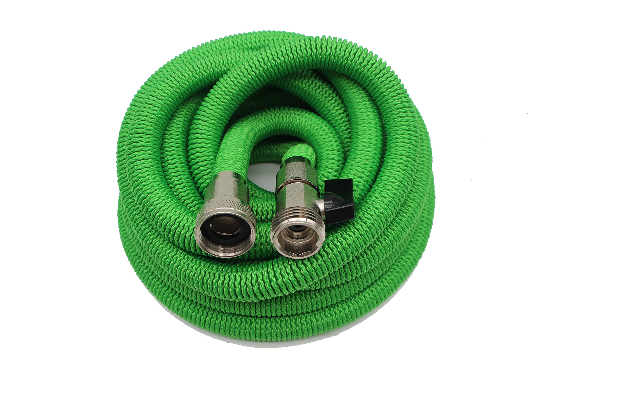 New 2018 Expandable Garden Hoses- Outdoor Hose Expands up to 50FT, Lightweight & Durable, Retractable Hose Will Not Kink, Tangle or Burst, Easily Portable with FREE Storage Bag