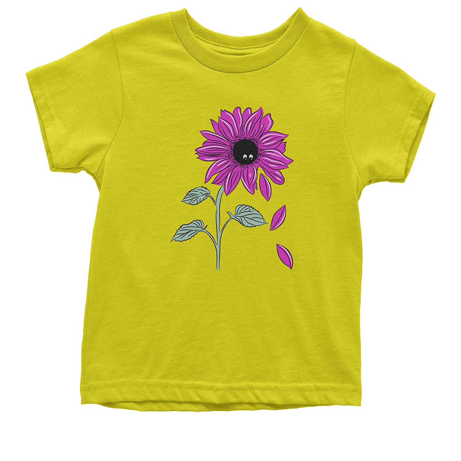 Expression Tees Pink Sunflower Youth T-Shirt