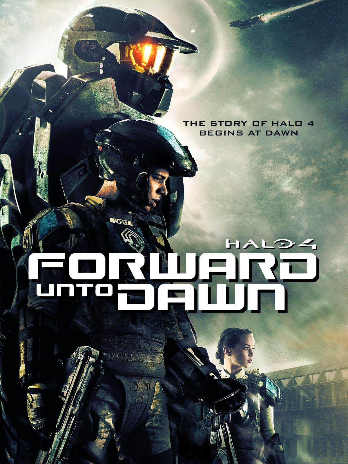Amazon Com Halo 4 Forward Unto Dawn Robin August Iain Belcher
