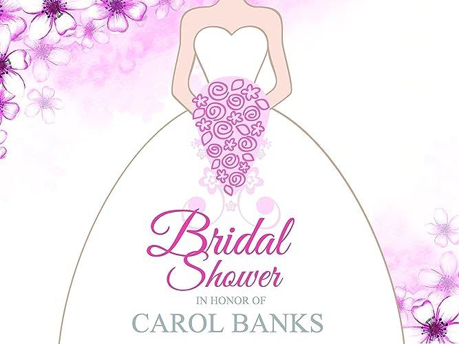 custom purple elegant bridal shower party poster sizes 36x24 48x24 48x36 personalized