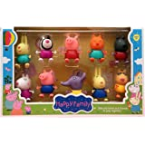 Cartoon Peppa Pig Friends Toys soft head