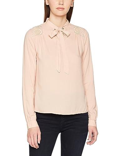 Vero Moda Vmabela L/S Bow Top, Blusa para Mujer