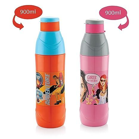 359bdfdfee5 Cello Puro Trends Plastic Water Bottle Set