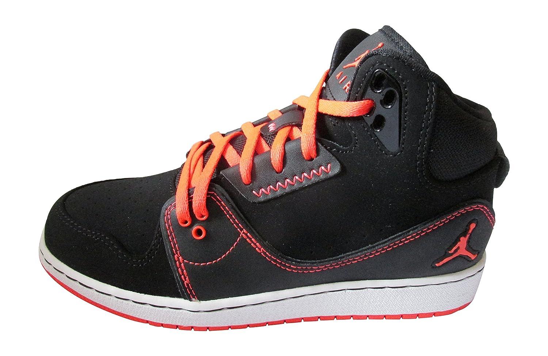 eb461a38383 Amazon.com | Nike air Jordan 1 Flight 2 BG hi top Trainers 631784 Sneakers  Shoes (UK 6 US 6.5Y EU 39, Black Infrared 23 White 023) | Running