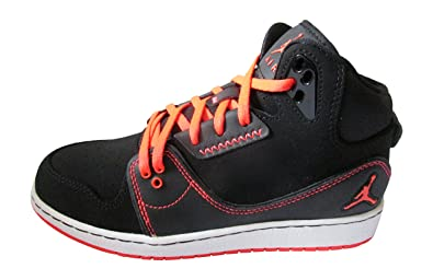 huge selection of 13131 77e9a Amazon.com  Nike air Jordan 1 Flight 2 BG hi top Trainers 631784 Sneakers  Shoes (UK 6 US 6.5Y EU 39, Black Infrared 23 White 023)  Running