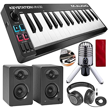 Amazon.com: M-Audio Keystation Mini 32 MK3 - Mini ...