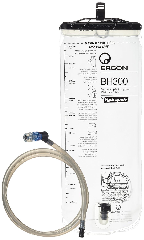 Ergon Sistema de hidratación Mochila para bicicleta BH300, Blanco, One size, 45030000