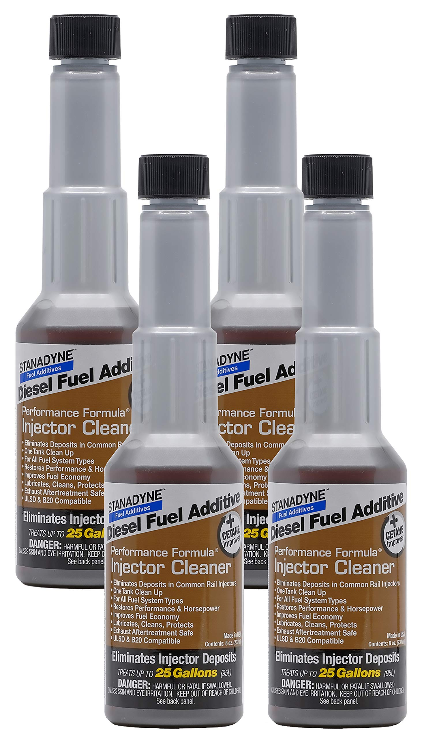 Stanadyne Performance Diesel Injector Cleaner QTY of 4 - 8oz bottles #43562 by Stanadyne