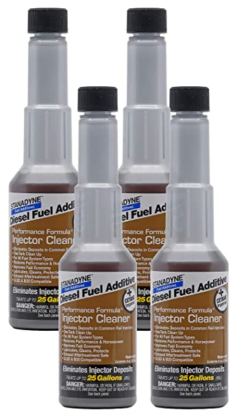 Stanadyne Performance Diesel Injector Cleaner QTY of 4 - 8oz