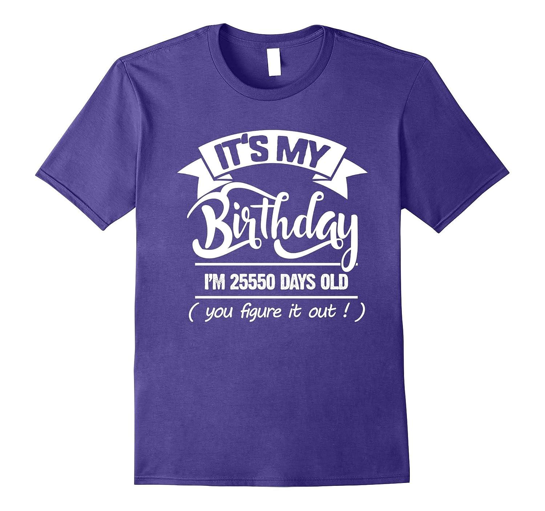 70th Birthday Gift Ideas Funny T Shirt For Men Women BN Rateeshirt