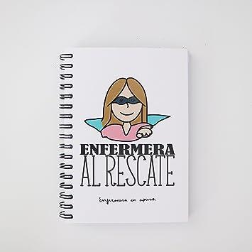 Enfermera en Apuros LIA6EA00 - Libreta, A6: Amazon.es ...
