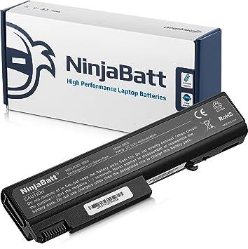 NinjaBatt Batería para HP EliteBook 6930P 8440P 8440W ProBook 6440B 6445B 6450B 6455B 6540B 6545B 6550B