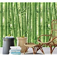 Eurotex Bamboo Tree Peel and Stick Wallpaper Self Adhesive Removable Decorative Wall Covering Contact Paper (PVC, Size 1…