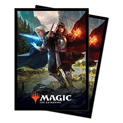 Magic: The Gathering Throne of Eldraine - Royal Scions Deck Protector Sleeves (100 ct.): Toys & Games
