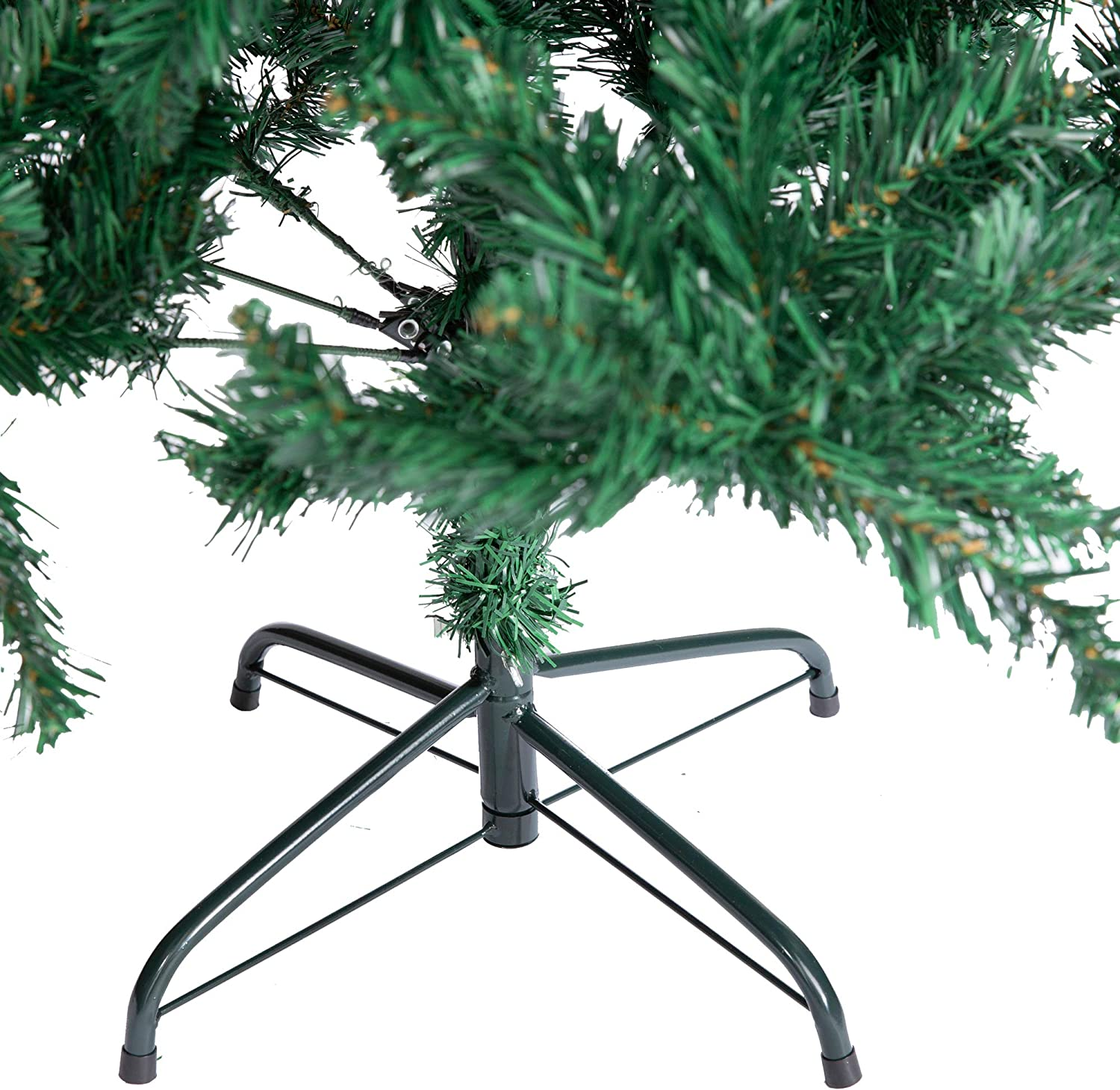 Olsen /& Smith Large 1346 Tips Festive Artificial Pine Indoor Xmas Christmas Tree with Waterproof Storage Bag Tree Only