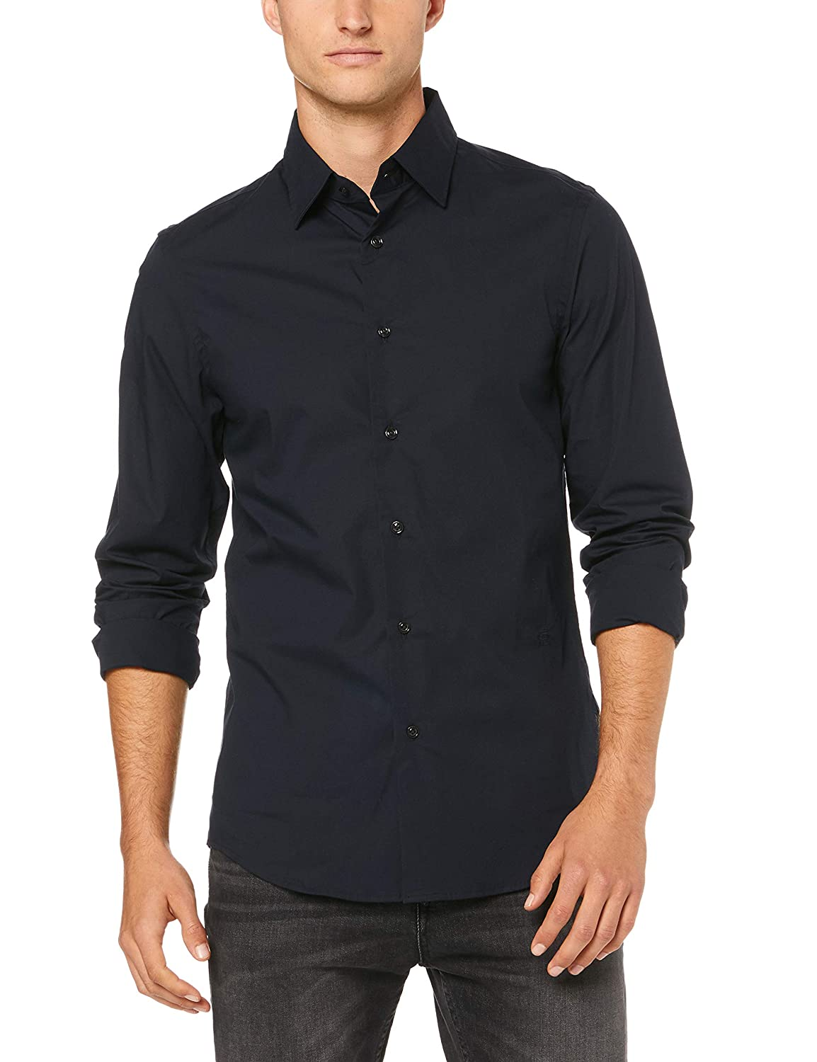 G-STAR RAW Core Super Slim Camisa Vaquera para Hombre