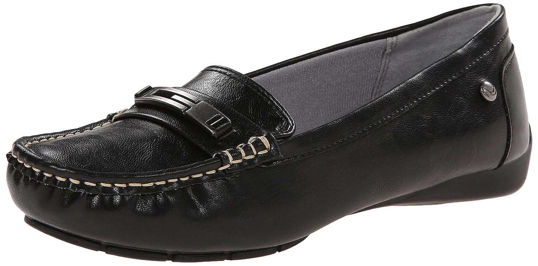 LifeStride Women's Viva Slip-On Loafer B00NJ1AX86 5.5 B(M) US|Black