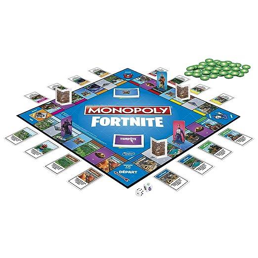 Monopoly - Fortnite juego de tablero, E6603: Amazon.es: Juguetes y juegos