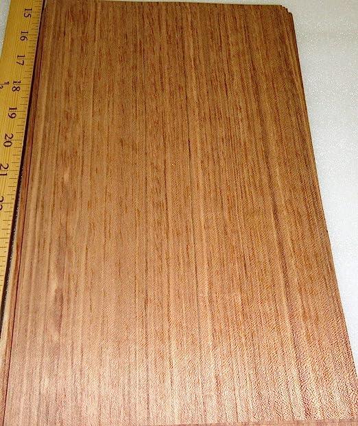 "Poplar Black Dyed wood veneer 8/"" x 116/"" raw no backing A grade 1//42/'/' thick"
