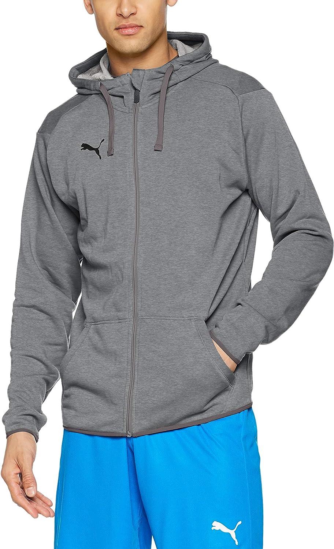 Puma Liga Casuals Hoody Jacket Sudadera, Hombre
