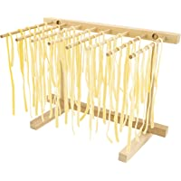 Southern Homewares Collapsible Wooden Pasta Drying Rack Natural Beechwood, One Size, Brown