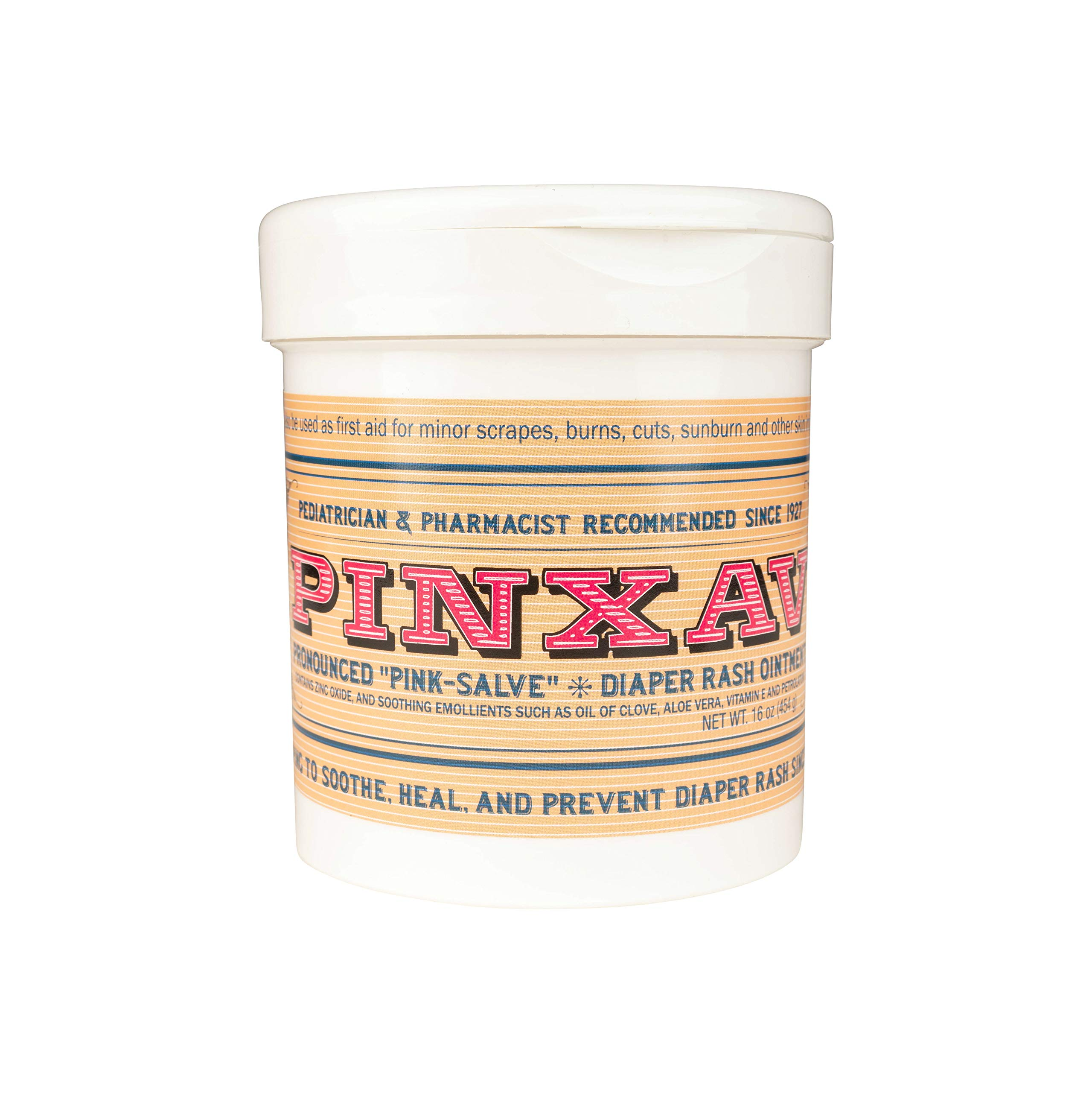 PINXAV Healing Cream, Fast Relief for Diaper Rash, Eczema, Chafing, Bed Sores, Acne, and Minor Cuts and Burns (16 OZ) by PINXAV
