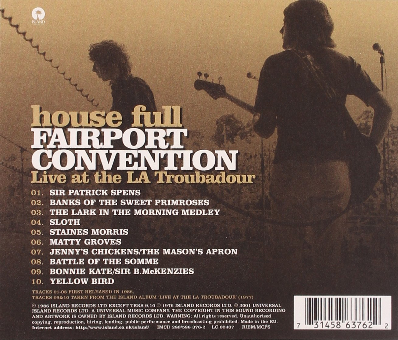 House Full: Fairport Convention Live at the LA Troubadour