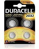 Duracell Spéciale Piles Bouton Lithium type 2032, Lot de 4