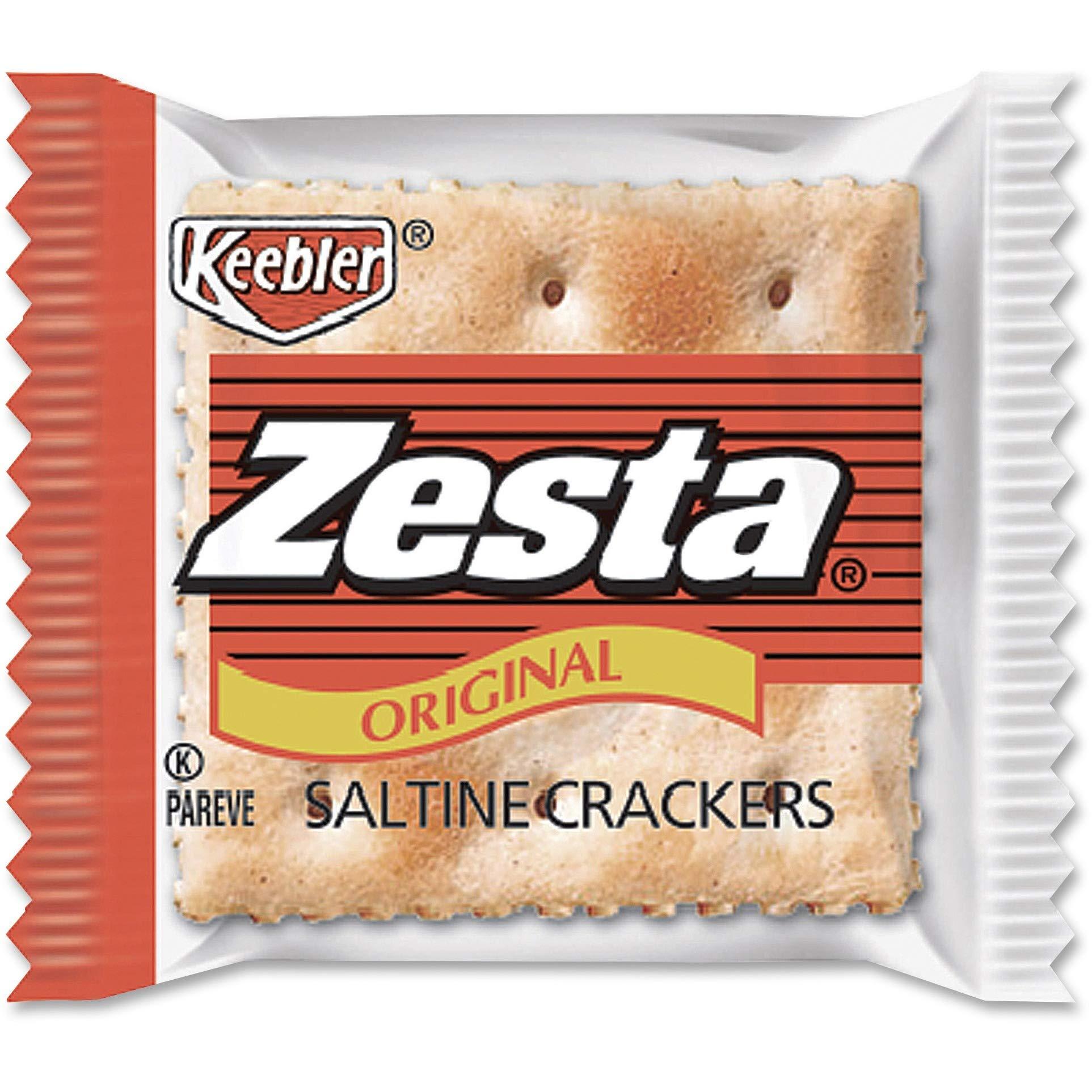 Cracker Keebler Zesta Saltine 500 Case 8 Count by Kellogg's