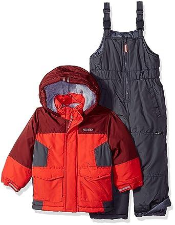 543c21393 Amazon.com: OshKosh B_Gosh Boys' Toddler Ski Jacket and Snowbib ...