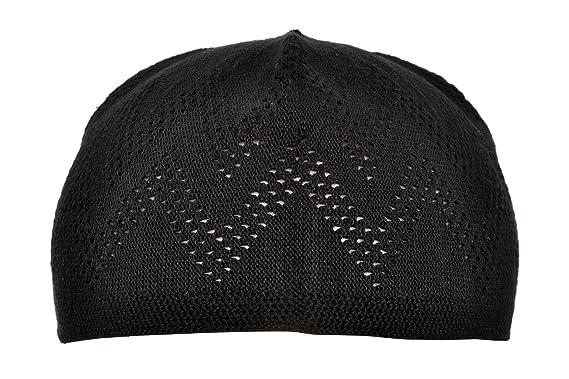 ac743622401171 Manaal Enterprises Namaz Topi Turkey Prayer Cap Taqiyah Kufi Skull Beanies  Hat Men Size   21