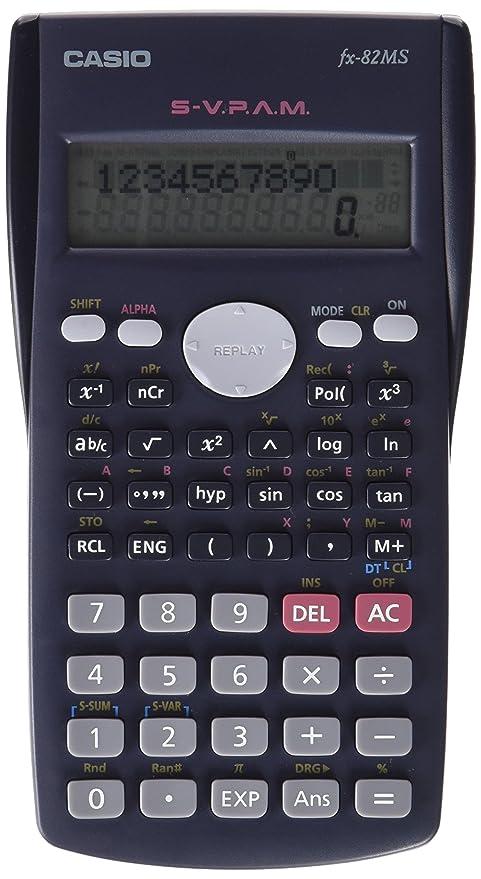 amazon com casio fx 82ms 2 line display scientific calculator rh amazon com Scientific Calculator Casio FX 560 casio scientific calculator fx-82es manual español