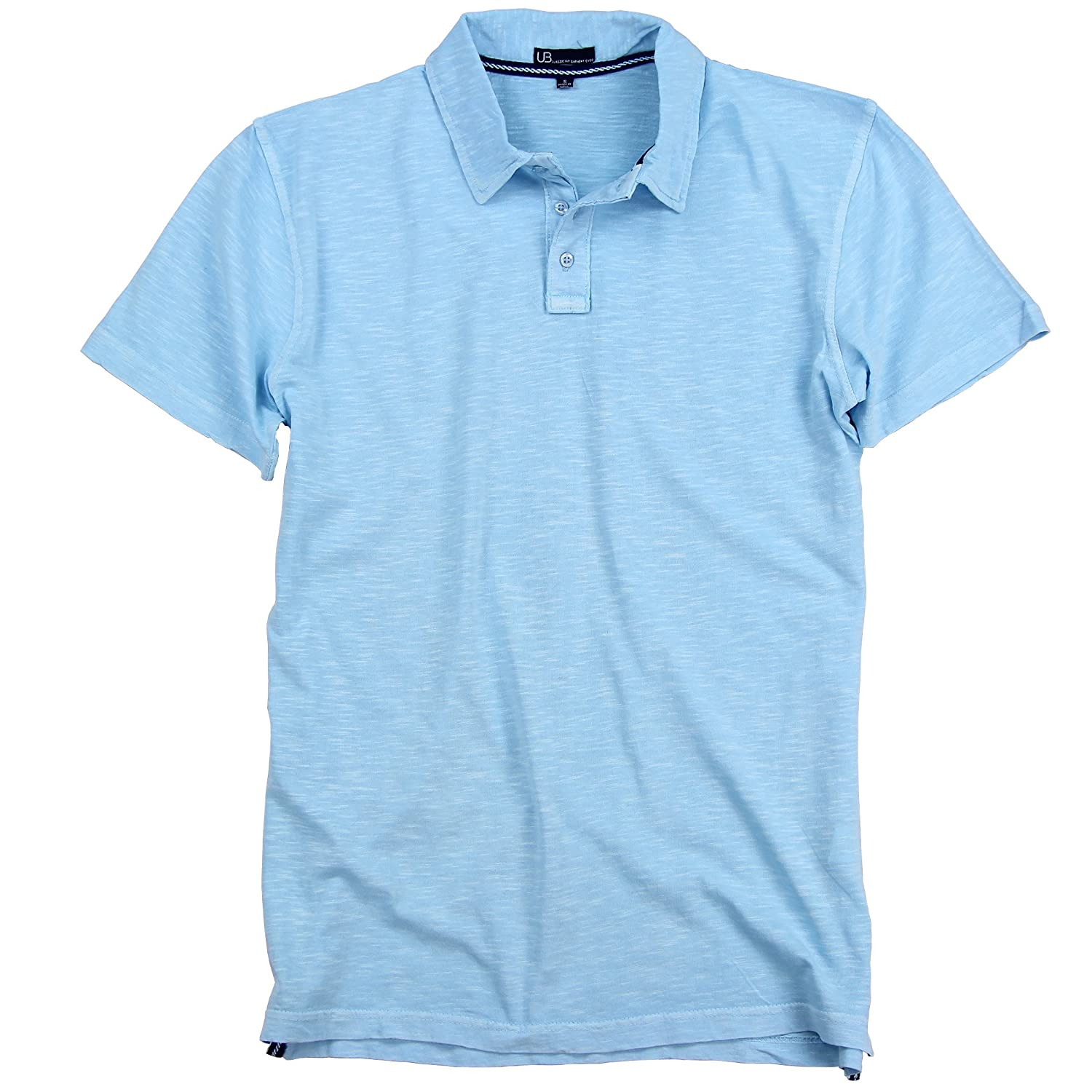 Men's Slim Fit Garment Dyed 100% Cotton Polo