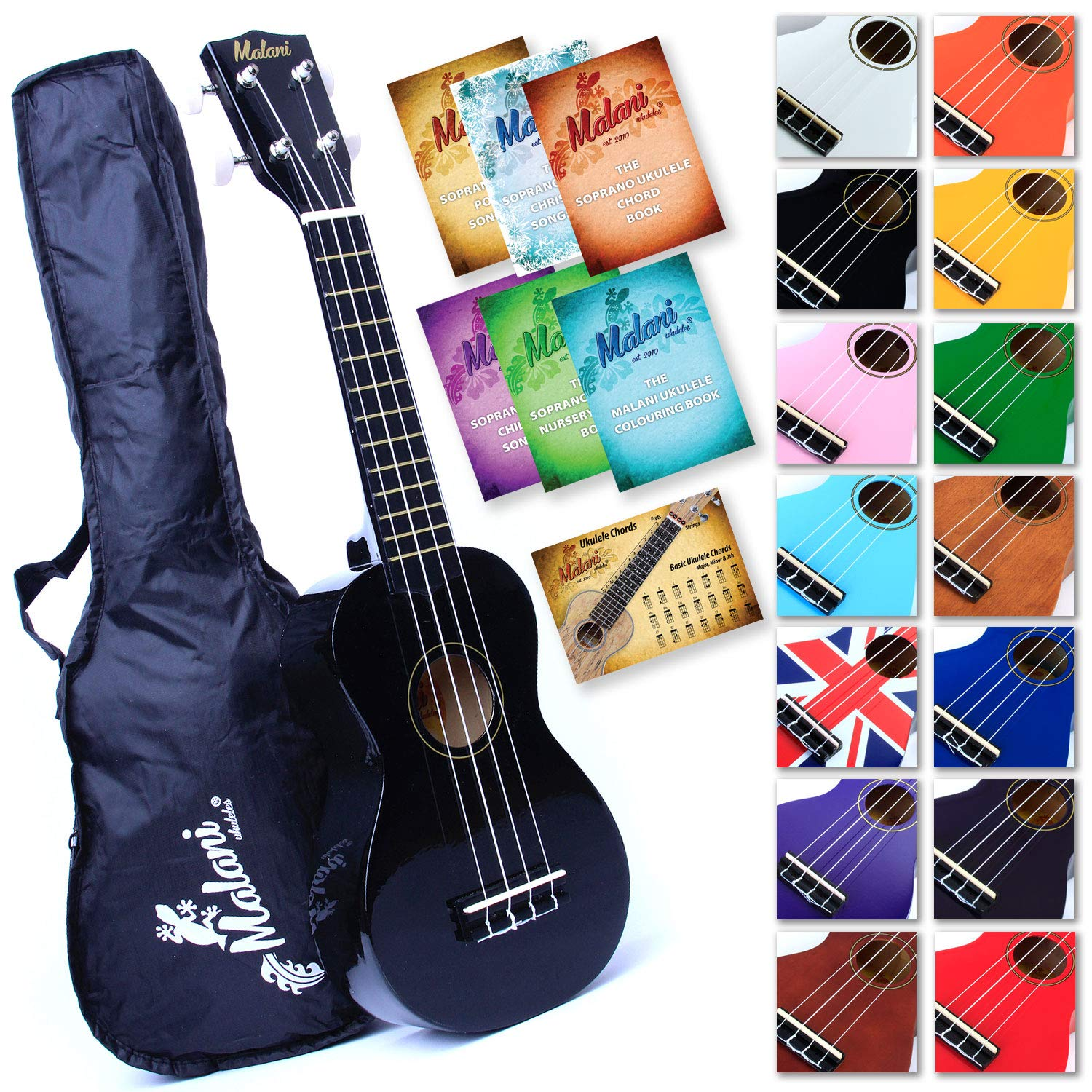 Best Black Soprano Ukulele With Bag Great Fun For Adult Beginners