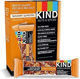 product image for KIND Bars, Maple Glazed Pecan & Sea Salt, Gluten Free, Low Sugar, 1.4oz, 4 Count